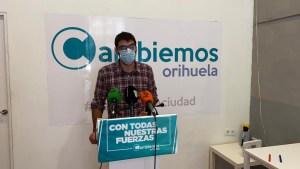 Cambiemos presenta una batería de medidas sociales y económicas para afrontar la crisis sanitaria en Orihuela y mejorar el cumplimiento de las medidas de protección