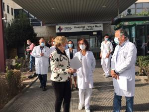 La ocupación de las camas UCI en el Hospital Vega Baja es del 95% pero desciende el número de ingresos en planta