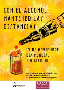 La UPCCA de la Mancomunidad Bajo Segura alerta de los peligros de consumir alcohol en tiempos de la Covid-19