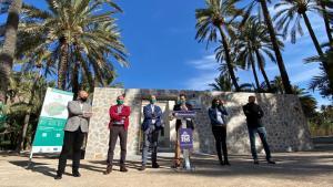 Finalizan las obras de rehabilitación, puesta en valor y conservación del Palmeral