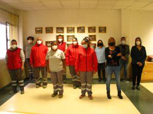 El taller de jardinería de Rojales se clausura tras actuar en los jardines y zonas verdes del municipio