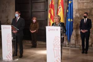 La Generalitat reduce el aforo en la hostelería, comercios y espacios culturales hasta el 9 de diciembre