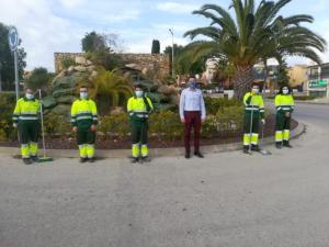 El Centro Especial de Empleo de Adis se hará cargo de la limpieza vial en Algorfa