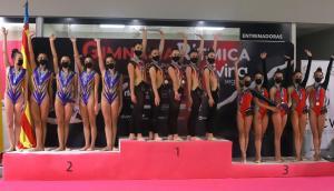 La oriolana Adriana Brotons, Subcampeona de España en la Copa Base Conjuntos de Gimnasia Rítmica