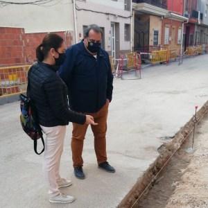 Reposición de red de alcantarillado de las calles Cantalobos y San Antonio en la pedanía de El Mudamiento