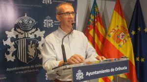 """José Galiano renuncia """"temporalmente"""" a sus competencias de Sanidad pero mantiene su acta como concejal"""