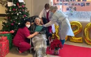 La primera vacuna del coronavirus en la Vega Baja la ha recibido una mujer de 101 años en una residencia de Redován