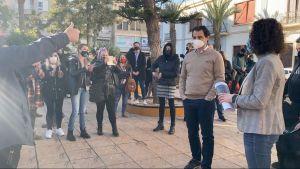 Los hosteleros de Torrevieja protestan contra el cierre
