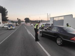 La Policía Local tramita 130  sanciones por saltarse el confinamiento perimetral durante el fin de semana