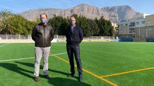 El Ayuntamiento invierte 280.000 euros en la reconstrucción del Polideportivo de Las Espeñetas