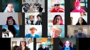 Carnavales por videoconferencia en Pilar de la Horadada
