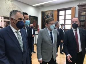 Ximo Puig anuncia la presentación de proyectos prioritarios para la Vega Baja ante el Ministerio de Transición Ecológica con el fin de concurrir a financiación europea
