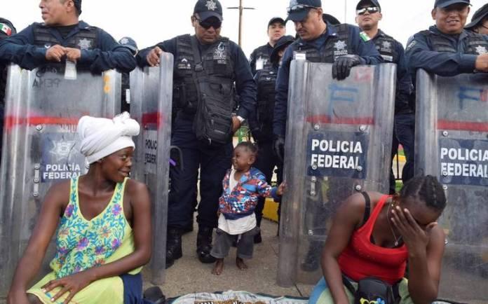 Resultado de imagen de maltrato de inmigrantes en chiapas