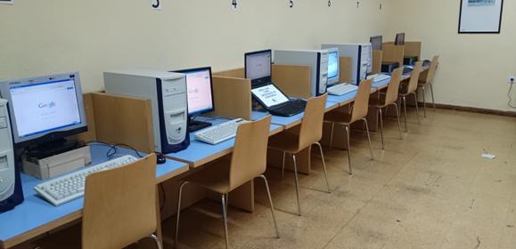 Resultado de imagen de biblioteca ordenadores