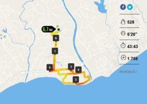 diario de una maratón