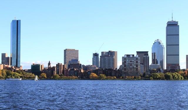 imagen panóramica de Boston