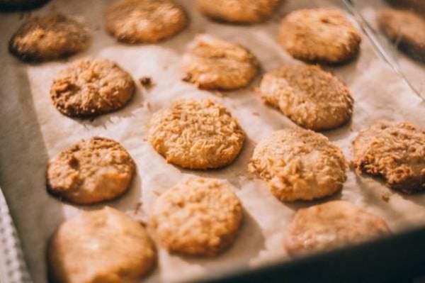 galletas de avena y miel
