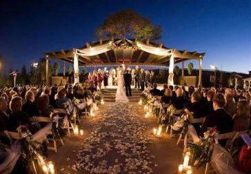 boda ceremonia velas