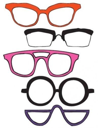 gafas atrezo para photocall