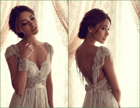 Vestidos de novia romanticas