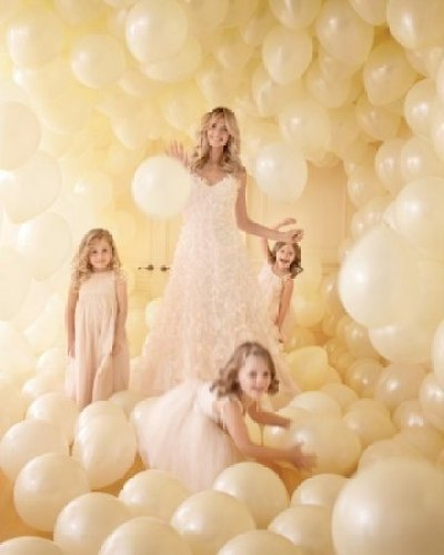 Photobooth diy backdrop balloon