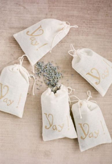 regalos para invitados con lavanda