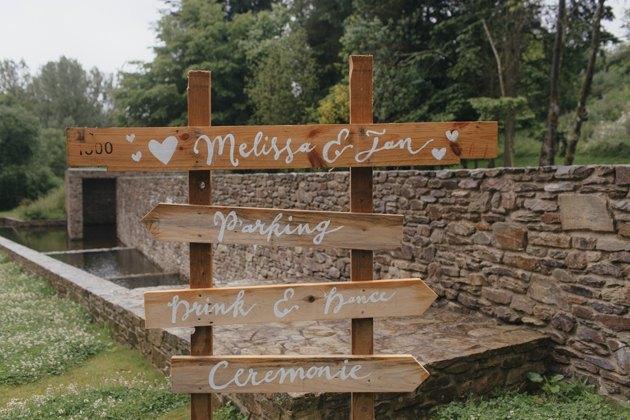 Boda en bosque Bélgica bienvenida