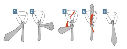 tutorial nudo corbata fiesta boda
