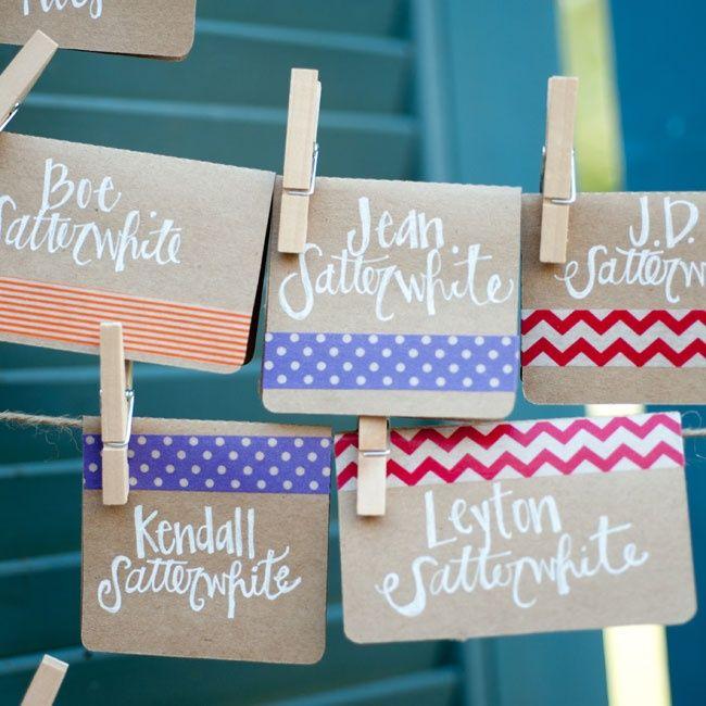 washi tape para bodas