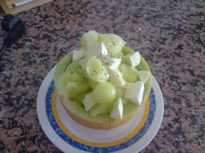 dieta para novias Ensalada melón