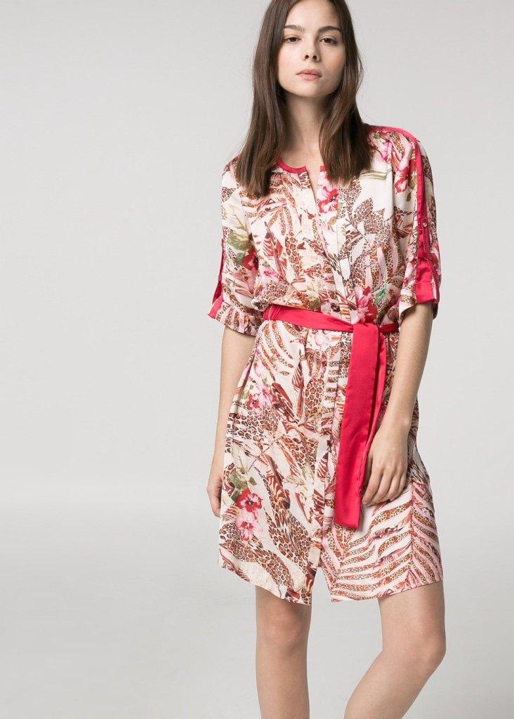 Vestido estampado 45.99€