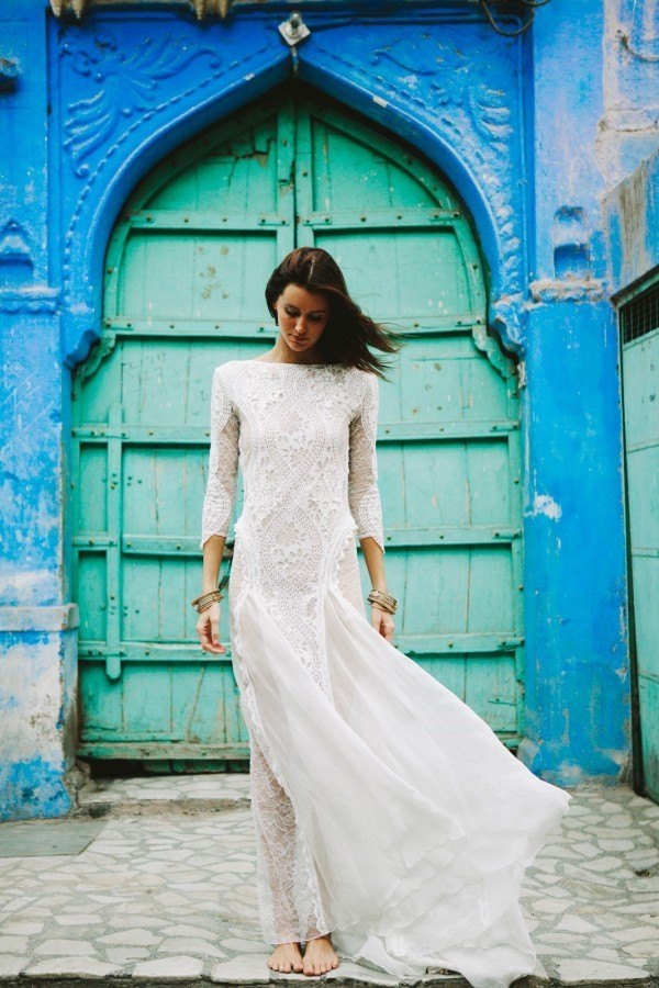 Vestidos de novia boho Grace loves Lace
