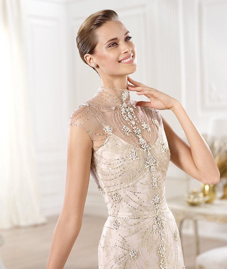 los vestidos de novia sexis y elegantes de pronovias - diario de una