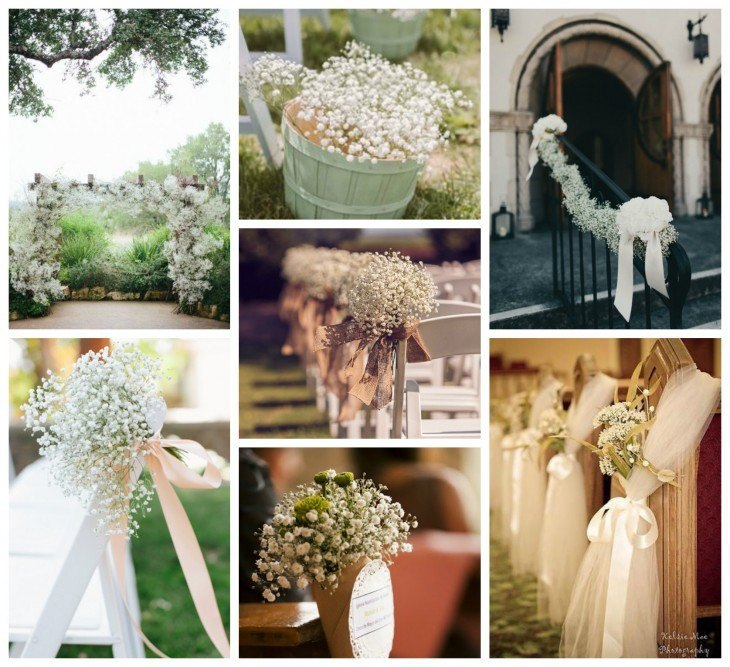 decorar boda con paniculata