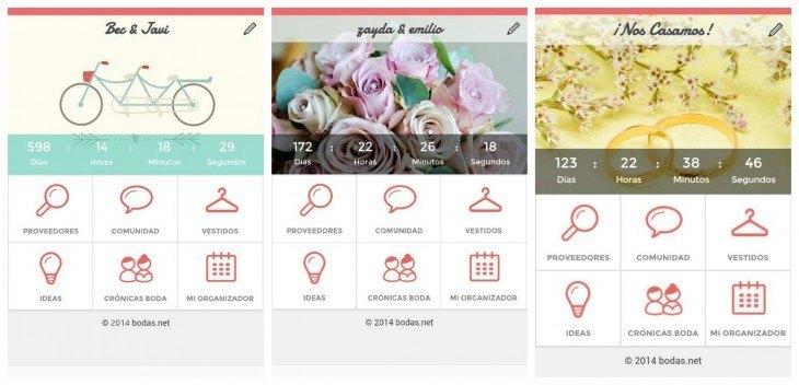 Captura pantalla bodas.net