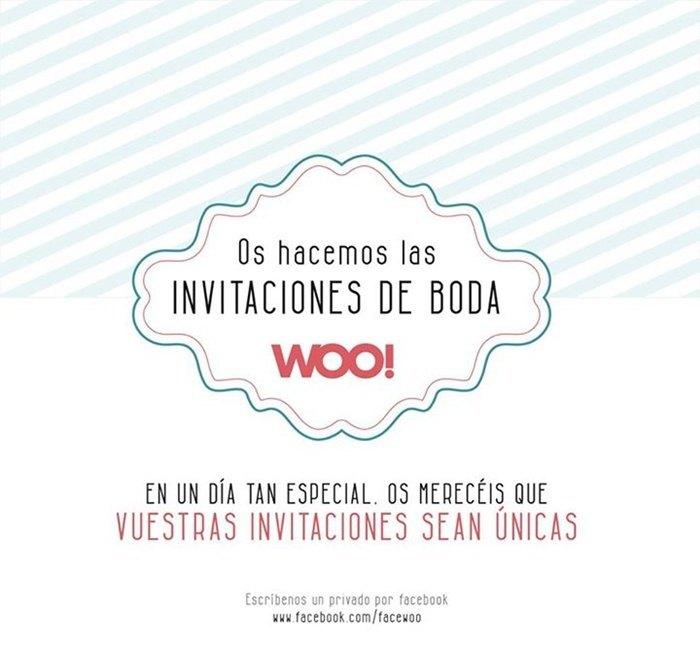 diseños graficos para bodas cartel de Woo