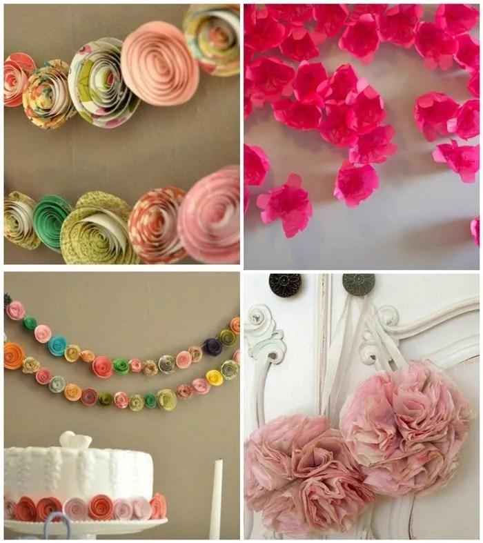 guirnaldas de flores para bodas