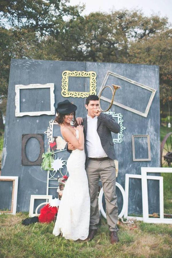 photocall para bodas originales composicion de marcos