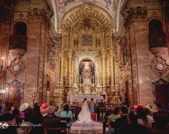 boda religiosa la Macarena en Sevilla