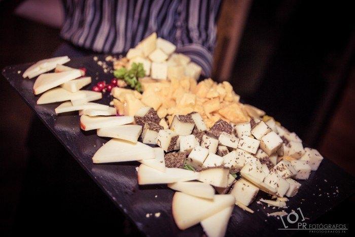 Boda Restaurante Abades Triana catering queso