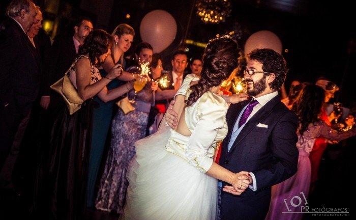 Boda Abades Triana baile novios
