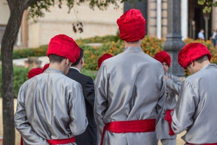 Catering Hindú Abades camareros
