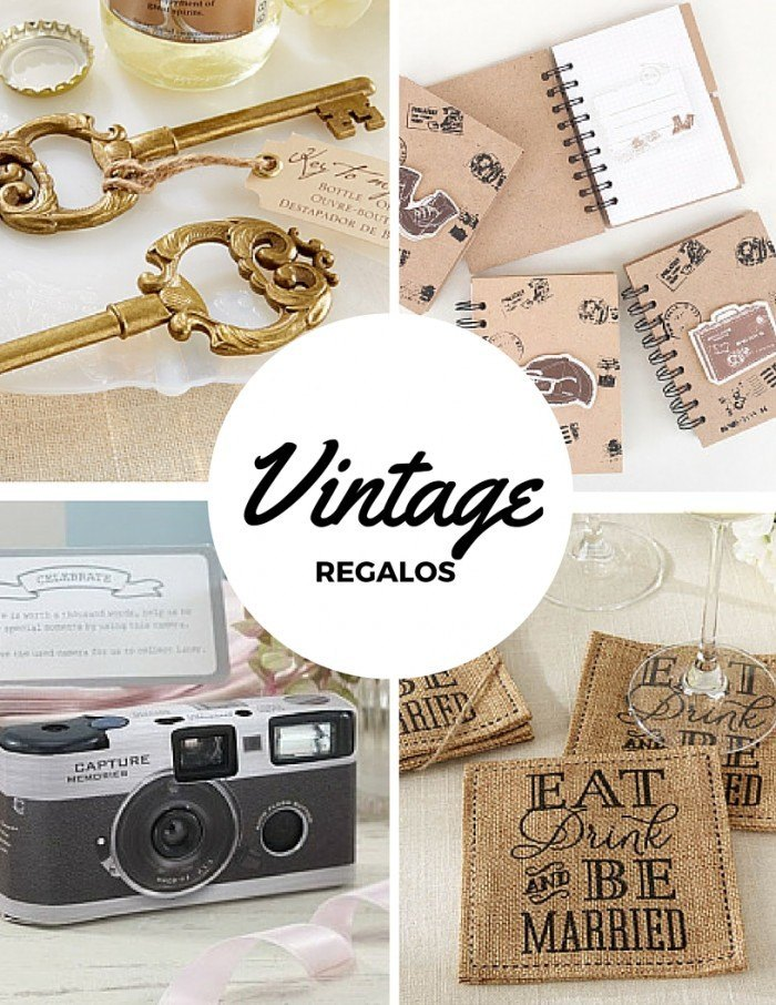 Regalos Vintage para bodas
