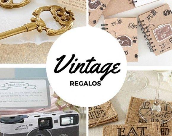 Regalos Vintage para bodas