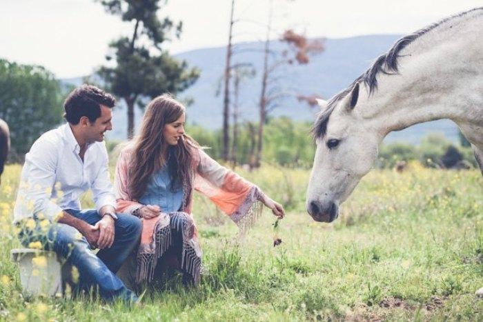 Preboda con caballo