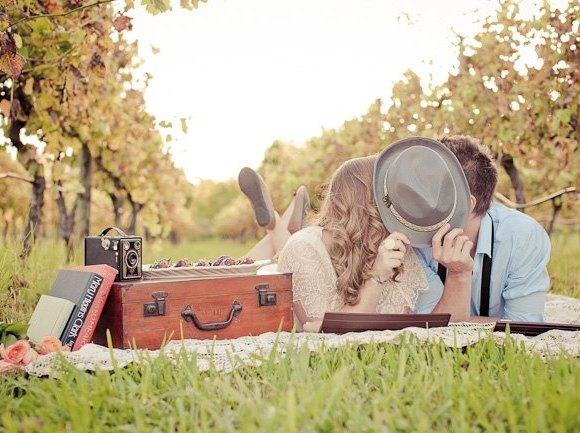 preboda original con picnic - Cómo Organizar una Preboda Original