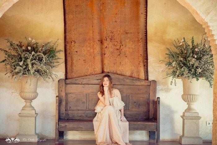 Boda de destino en Toscana vestido inma linares - Editorial con aires a la toscana