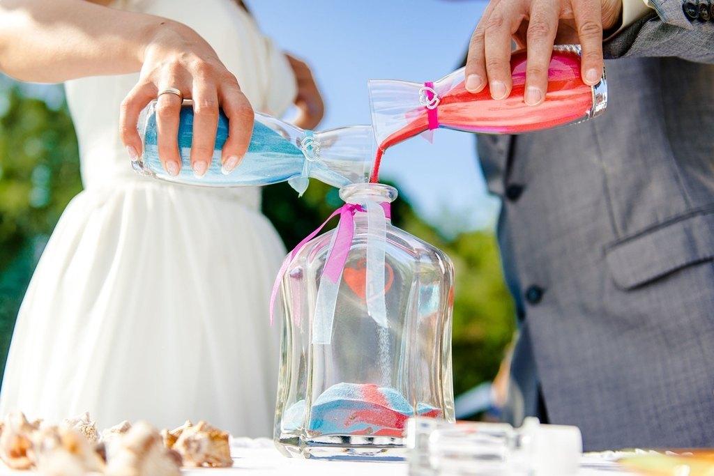 Guion Matrimonio Simbolico : Ceremonia de la arena para bodas civiles