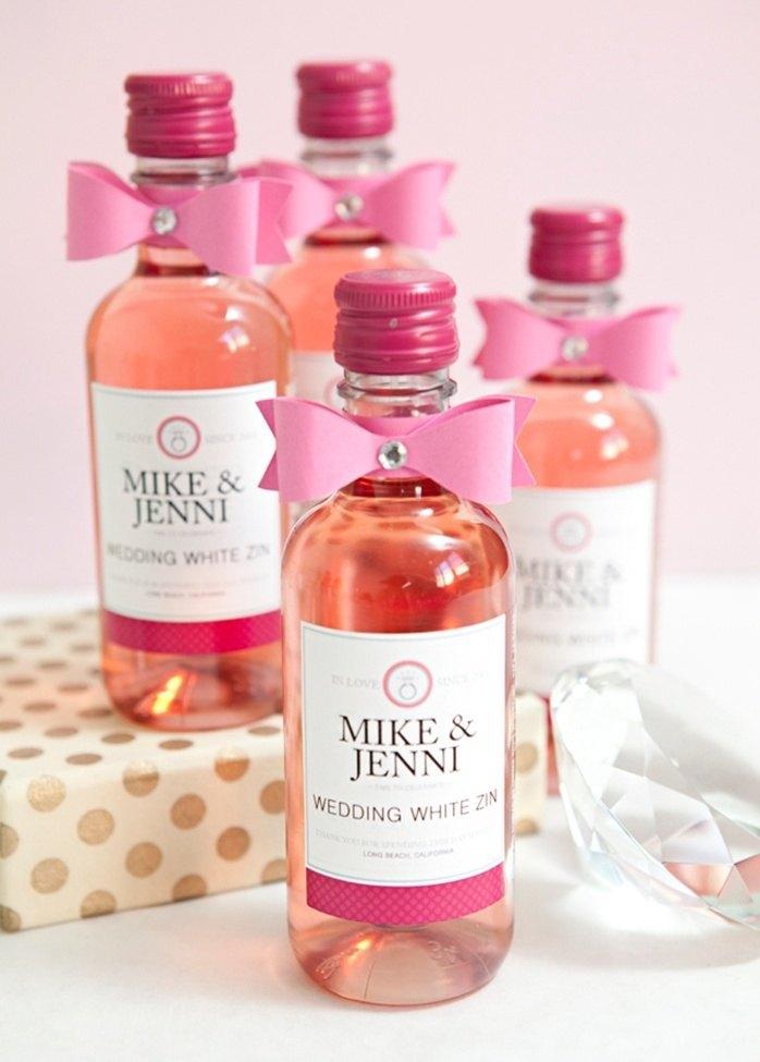 diy botellas vino para bodas