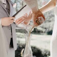 materiales para hacer el ritual de la arena en una boda